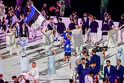 Opening Ceremony , Estonia<br /> Olympic Games Tokyo 2021<br /> © Hippo Foto - Dirk Caremans<br /> 23/07/2021