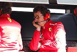 March 15, 2019 - Melbourne, Australia - Motorsports: FIA Formula One World Championship 2019, Grand Prix of Australia, ..Mattia Binotto (ITA, Scuderia Ferrari Mission Winnow) (Credit Image: © Hoch Zwei via ZUMA Wire)