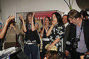 Chrissie Hynde and Mary McCartney. PETA's Humanitarian Awards, Stella McCartney, Bruton Street, London, W1. 28 June 2006. ONE TIME USE ONLY - DO NOT ARCHIVE  © Copyright Photograph by Dafydd Jones 66 Stockwell Park Rd. London SW9 0DA Tel 020 7733 0108 www.dafjones.com