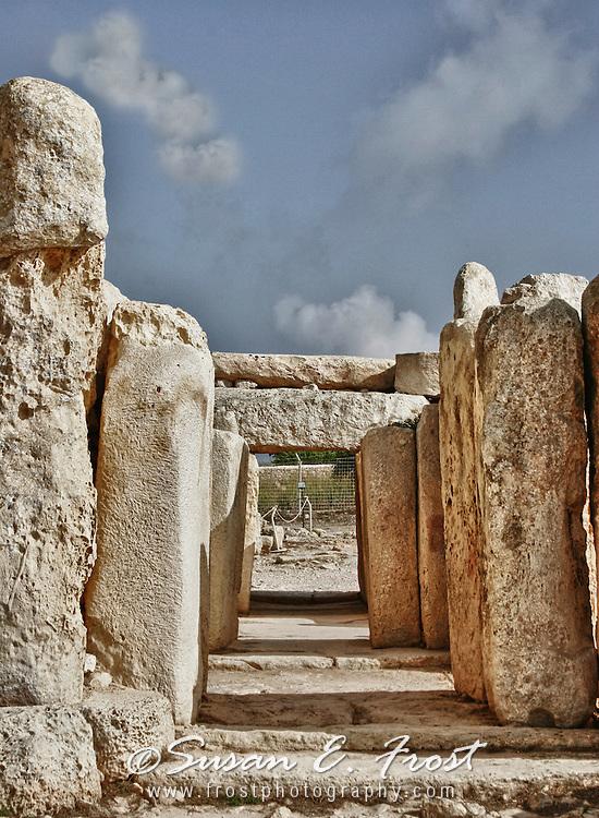 Malta Hagar Qim megaliths temples UNESCO World Heritage Site