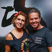 NLD/Amsterdam/20121117 - Danny de Munk 30 jaar in het vak, Danny de Munk en partner Jenny