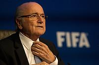 Sepp Blatter ne sera pas candidat a sa reelection a la tete de la FIFA