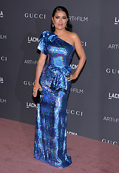 Salma Hayek attends the LACMA Art + Film Gala honoring Mark Bradford and George Lucas on November 04, 2017 in Los Angeles, CA, USA. Photo by Lionel Hahn/ABACAPRESS.COM