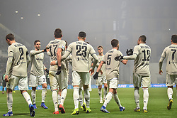 "February 10, 2019 - Reggio Emilia, Italia - Foto Massimo Paolone/LaPresse.10 febbraio 2019 Reggio Emilia, Italia.sport.calcio.Sassuolo vs Juventus - Campionato di calcio Serie A TIM 2018/2019 - stadio ""Mapei - Città del Tricolore"".Nella foto: Emre Can (juventus F.C.) esulta dopo aver realizzato il gol 0-3..Photo Massimo Paolone/LaPresse.February 10, 2019 Reggio Emilia, Italy.sport.soccer.Sassuolo vs Juventus - Italian Football Championship League A TIM 2018/2019 - ""Mapei Stadium""..In the pic: Emre Can (juventus F.C.) celebrates after scoring goal 0-3 (Credit Image: © Massimo Paolone/Lapresse via ZUMA Press)"