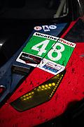 January 25-26, 2020. IMSA Weathertech Series. Rolex Daytona 24hr. Detail on the #48 Paul Miller Racing Lamborghini Huracan GT3, GTD: Bryan Sellers, Madison Snow, Corey Lewis, Andrea Caldarelli