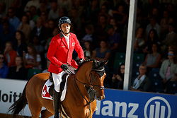Muff Werner, SUI, Daimler<br /> FEI Nations Cup - CHIO Rotterdam 2017<br /> © Hippo Foto - Sharon Vandeput<br /> Muff Werner, SUI, Daimler