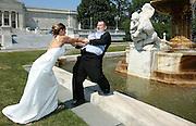 O'Brien wedding in Cleveland, Ohio on July 7, 2007.