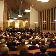 Optreden Huizer Mannenkoor Kruiskerk Huizen