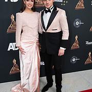 NLD/Amsterdam/20200122 - Musical Award Gala 2020, Soy Kroon en partner Holly Mae Broos