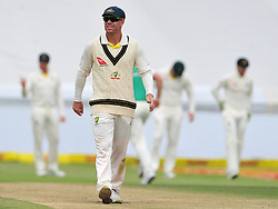 Cape Town-180324 Australian  David Warner fielding   against  South Africa in the secong Innings of the 3rd sunfoil cricket test at Newlands cricket stadium..Photograph:Phando Jikelo/African News Agency/ANA