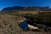 Sao Roque de Minas_MG, Brasil...Paisagens da Serra da Canastra, onde nasce o Rio Sao Francisco, o rio da integracao nacional.  ..The Sao Francisco river originates in the Canastra mountain range. It is an important river for Brazil, called the river of national integration...Foto: LEO DRUMOND / NITRO