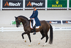 Diederik van Silfhout, (NED),  Arlando TN N.O.P. - Grand Prix Team Competition Dressage - Alltech FEI World Equestrian Games™ 2014 - Normandy, France.<br /> © Hippo Foto Team - Leanjo de Koster<br /> 25/06/14