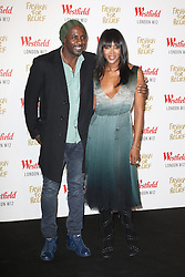 © Licensed to London News Pictures. 27/11/2014, UK. Idris Elba, Naomi Campbell, Naomi Campbell Fashion For Relief Pop-Up Shop - launch party, Westfield London UK, 27 November 2014. Photo credit : Richard Goldschmidt/Piqtured/LNP