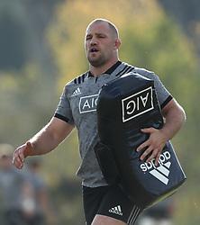 November 20, 2018 - Rome, Italy - Rugby All Blacks training - Vista Norther Tour.Owen Franks at University Sport Center in Rome, Italy on November 20, 2018. (Credit Image: © Matteo Ciambelli/NurPhoto via ZUMA Press)