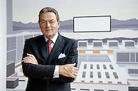 Jürgen Thumann, Präsident Bundesverband der Deutschen Industrie, BDI, und Vorsitzender des Gesellschafterausschusses der Heitkamp & Thumann Group, Haus der Wirtschaft, 31. Juli 2007