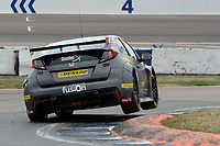 #22 Chris Smiley BTC Norlin Racing Honda Civic Type R (FK2) during BTCC Race 3  as part of the Dunlop MSA British Touring Car Championship - Rockingham 2018 at Rockingham, Corby, Northamptonshire, United Kingdom. August 12 2018. World Copyright Peter Taylor/PSP. Copy of publication required for printed pictures.