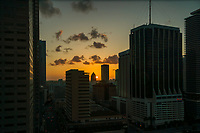 Sunset in Downtown Miami