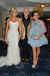 JOHN & CLAIRE CAUDWELL with TALLIA STORM at The Butterfly Ball in aid of Caudwell Children held at the Grosvenor House, Park Lane, London on 25th June 2015