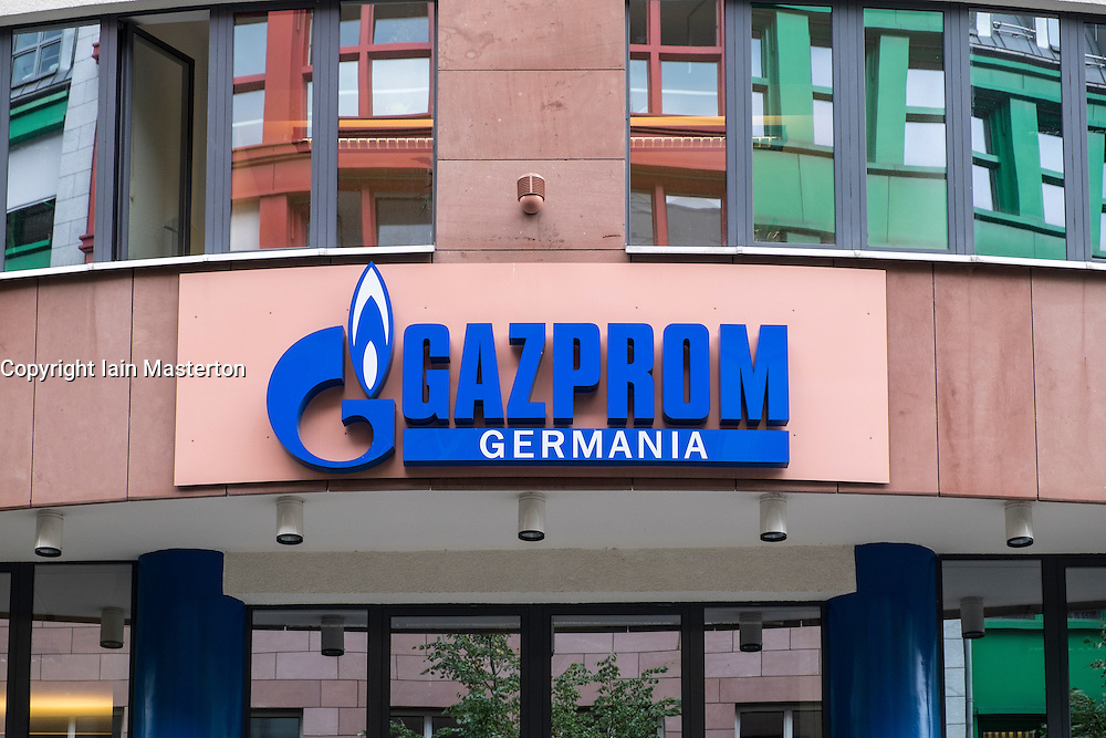 Headquarters of Gazprom Germania in Berlin Germany