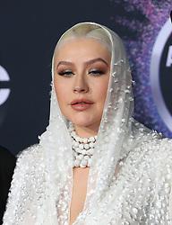 2019 American Music Awards - Arrivals. 24 Nov 2019 Pictured: Christina Aguilera. Photo credit: Jen Lowery / MEGA TheMegaAgency.com +1 888 505 6342