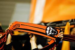 23.01.2011, Eisstadion Liebenau, Graz, AUT, EBEL, Moser Medical Graz 99ers vs EC Red Bull Salzburg, im Bild die Fans der 99ers hatten Grund zum Jubeln, EXPA Pictures © 2011, PhotoCredit: EXPA/ Erwin Scheriau