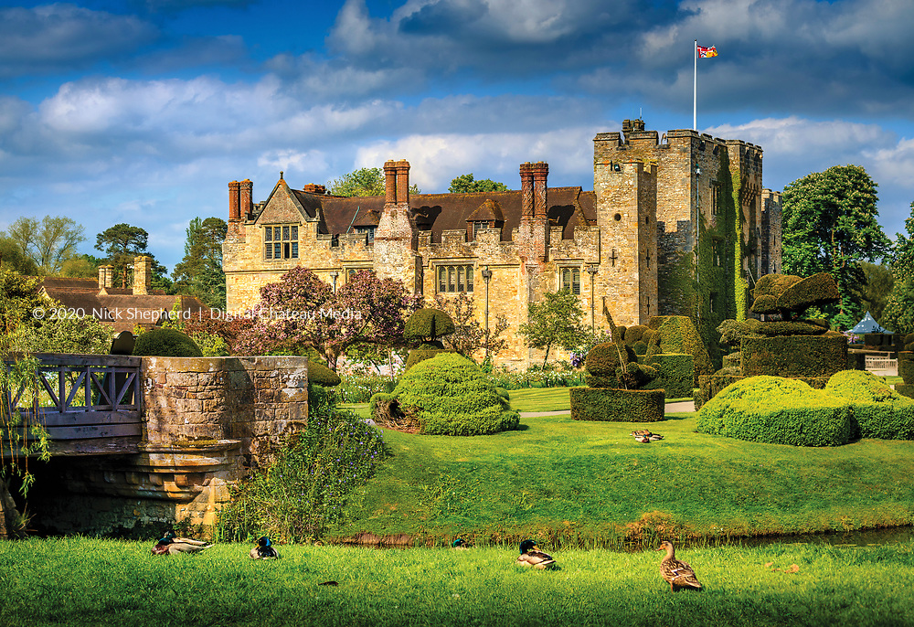 The birthplace of Elizabeth I, Hever Castle in Kent, UK.