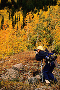 Student at Photography Workshop near Red Lodge