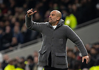 Football - 2018 / 2019 UEFA Champions League - Quarter Final , First Leg: Tottenham Hotspur vs. Manchester City<br /> <br /> Pep Guardiola, Manager of Manchester City, at White Hart Lane Stadium.<br /> <br /> COLORSPORT/DANIEL BEARHAM