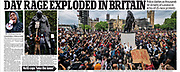 The Daily Mail newspaper cutting