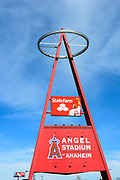 Angel Baseball Big A Marquee Landmark Sign