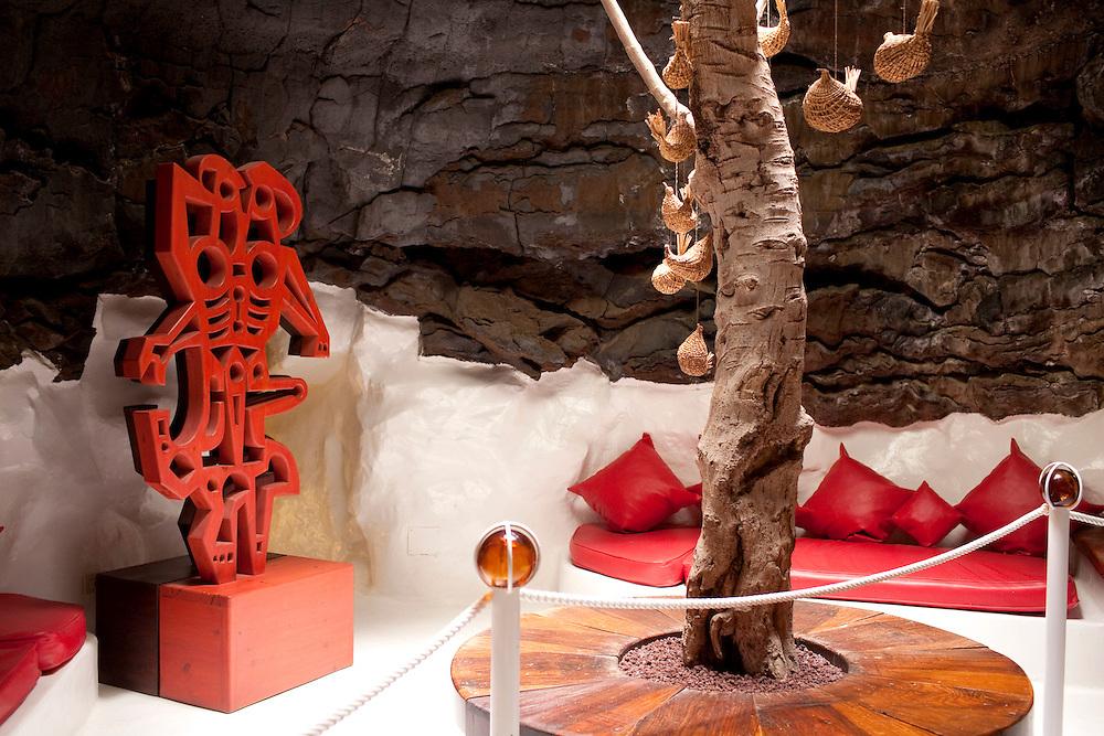 Fundación Cesar Manrique. Antigua casa del artista y arquitecto. Isla de Lanzarote.
