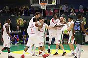 Olimpia EA7 Emporio Armani Milano<br /> EA7 Emporio Armani Milano - Cantine Due Palme Brindisi<br /> Poste Mobile Final Eight F8 2017 <br /> Lega Basket 2016/2017<br /> Rimini, 16/02/2017<br /> Foto Ciamillo-Castoria / M. Brondi