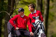 11-05-2019 Foto's NGF competitie hoofdklasse poule H1, gespeeld op Drentse Golfclub De Gelpenberg in Aalden. Foursomes:   Rosendaelsche 1 - Daan Blom en Gijs Overdijk