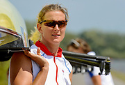 Reading, GREAT BRITIAN, Sarah WINCKLESS, British Olympic Association, BOA, 2008 Beijing Olympic Rowing Team Announcement for 2008 Beijing Olympic Games, CHINA. <br /> Redgrave and  Pinsent Rowing Lake, Caversham Training Centre, on Thursday, 26/06/2008. [Mandatory Credit:  Peter SPURRIER / Intersport Images]