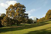 The main Hall, University of Aarhus set in the University Park designed by C.F. Moller Architect & Søren Jensen Engineer