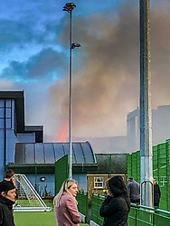 Fire at Peebles High School.  Fire service were called just before 1pm on Thirsday 28th November.  No reports of casualties.