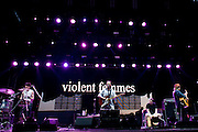 Violent Femmes perform at Suburbia Fest in Plano, Texas on May 3, 2014.