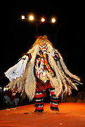 Traditional Balinese dance. Rangda, witch queen