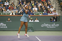 March 9, 2019 - Indian Wells, CA, U.S. - INDIAN WELLS, CA - MARCH 09: Naomi Osaka (JPN) hits a forehand during the BNP Paribas Open on March 9, 2019 at Indian Wells Tennis Garden in Indian Wells, CA. (Photo by George Walker/Icon Sportswire) (Credit Image: © George Walker/Icon SMI via ZUMA Press)