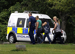 ©  licensed to London News Pictures KENT. UK. 28/04/2011. Staff inside the Metropolitian police dog training centre in Bromley today (28 June 2011). An officer has been treated in hospital following the deaths of two police dogs who were left in a car on one of the hottest days of the year. The animals were found collapsed in an unventilated vehicle at the Metropolitan Police's training centre. Please see special instructions..Picture credit should read Grant Falvey/LNP.