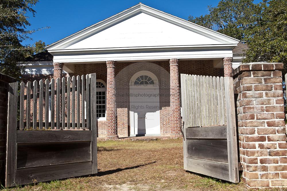 St. James Santee Episcopal Church built by French Huguenots in 1768 McClellanville, SC.