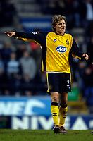 Photo: Jed Wee.<br />Bolton Wanderers v Wigan Athletic. The FA Barclaycard Premiership. 04/02/2006.<br />Wigan's Jimmy Bullard.