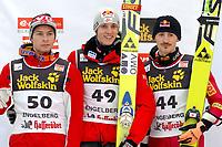 Anders Jacobsen (NOR), Gregor Schlierenzauer (AUT) und Adam Malysz (POL) (SWITZERLAND ONLY). © Claudia Stadelmann/Gepa/EQ Images