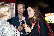 ISABELLA MACPHERSON; GEOFF DYER; REBECCA WILSON, ICA Annual Institute of Contemporary Arts Fundraising Gala. Koko's Camden. London. 24 March 2010
