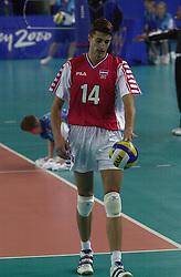 23-09-2000 AUS: Olympic Games Volleybal Joegoslavie - Argentinie, Sydney<br /> Boskan, Slobodan