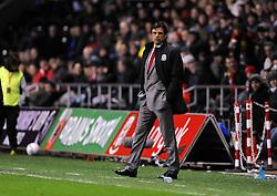 Wales Manger, Chris Coleman - Photo mandatory by-line: Joe Meredith/JMP - Tel: Mobile: 07966 386802 06/02/2013 - SPORT - FOOTBALL - Liberty Stadium - Swansea  -  Wales V Austria - International Friendly