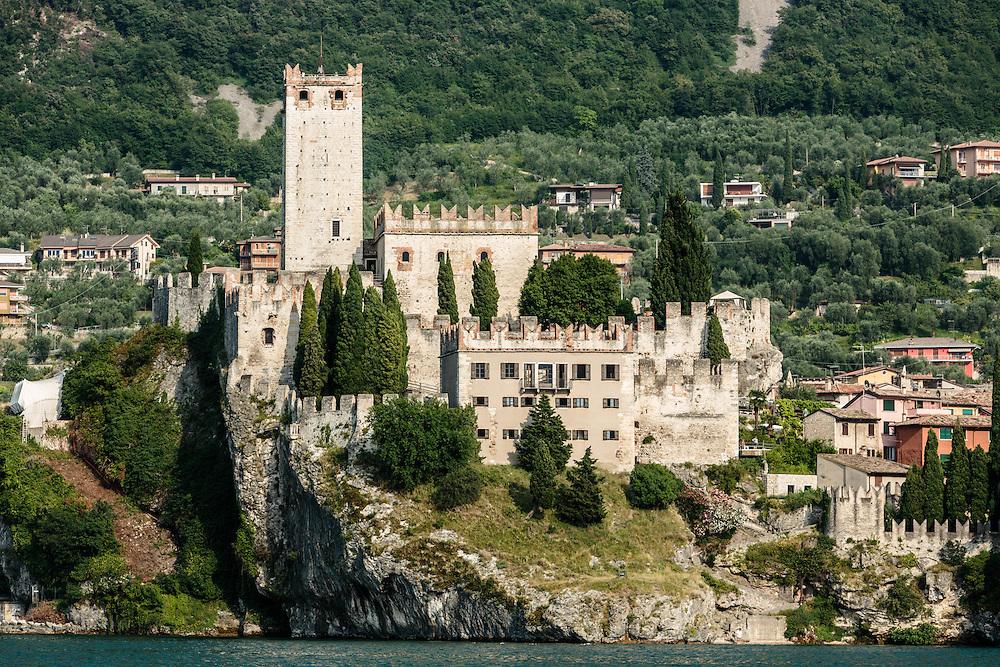 20 JUN 2012 - Malcesine (VR) - Lago di Garda - Il Castello Scaligero.