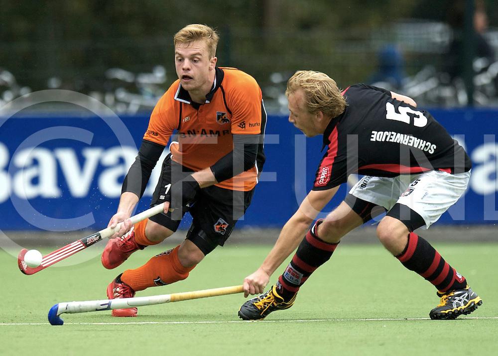 EINDHOVEN - Oranje Zwart- Schaerweijde<br /> Hoofdklasse mannen<br /> Foto: Mink van der weerden.<br /> FFU PRESS AGENCY COPYRIGHT FRANK UIJLENBROEK