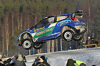 MOTORSPORT - WORLD RALLY CHAMPIONSHIP 2012 - RALLY SWEDEN / RALLYE DE SUEDE - 08 TO 12/02/2012 - KARLSTAD (SWE) - PHOTO : FRANCOIS BAUDIN /  DPPI - 04FORD WRT / SOLBERG Petter - PATTERSON Chris / FORD FIESTA - WRC / Action