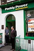 Paddy power betting shop, Chinatown, London.